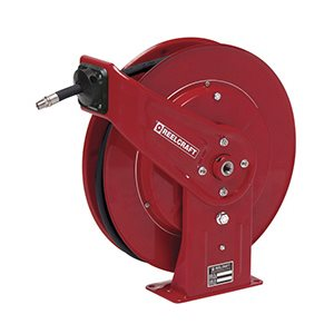 "HEAVY DUTY HIGH PRESSURE HOSE REEL - 3 / 8"" X 50'"