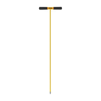 "Soil Probe, Cast Metal Pointed Tip, Industrial Grade Epoxy, 48"" Fiberglass, ProGrip"