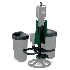 Deluxe Ball Washer Ensemble with Dbl Trash Mate, Spk Brush, Club Washer & Bracket, Other Colors
